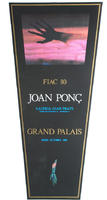 Joan Ponc: FIAC 80 - Grand Palais 1980