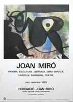 Joan Miró: Fundació Joan Miró - 1982