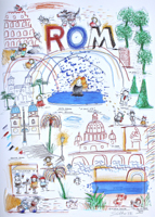 Wilhelm Schlote: Rom