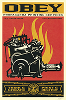 Shepard Fairey: Print and Destroy