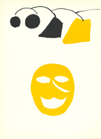 Alexander Calder: Yellow Mask