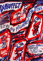 Jean Dubuffet: Sites aux Figurines, Psycho-Sites