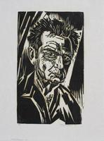Werner Drewes: Selfportrait