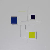 Geneviève Claisse: Konkrete Komposition