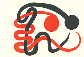 Alexander Calder: Komposition