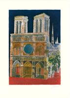 Franco Gentilini: Basilika bei Nacht