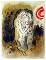 Marc Chagall: Naemi und ihre Schwiegertöchter