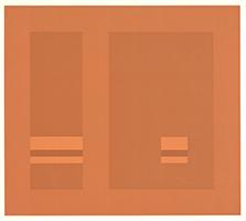 Antonio Calderara: Geometrische Komposition