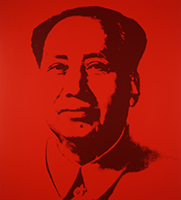 Andy (after) Warhol: Mao (red)