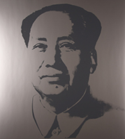Andy (after) Warhol: Mao (silver)