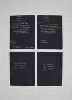 Joseph Beuys: Gletscher Schwamm Totenbett