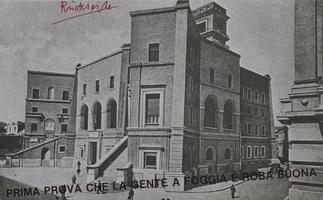 Joseph Beuys: Nimm Foggia ernst - Rückseite