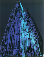 Andy Warhol: Cologne Cathedral (blue)