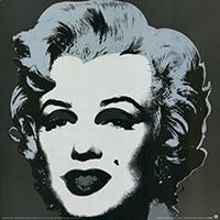 Andy Warhol: Marilyn - black - GROSS