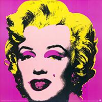 Andy Warhol: Marilyn - pink