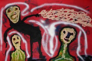 Volkmar Schulz-Rumpold: Die krummen Masken