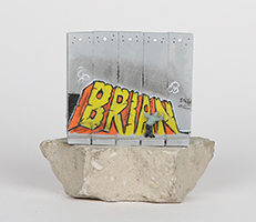 Banksy: Wall Section (Brian)