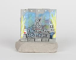 Banksy: Wall Section (Make Hummus Not Wall)
