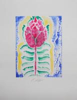 Ernst Fuchs: Die Morgenrot - Rose