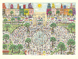 James Rizzi: Washington Ain't No Square Park