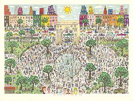 James Rizzi: Washington Ain't No Square Park