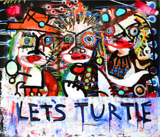 Paul Kostabi: Let's turtle