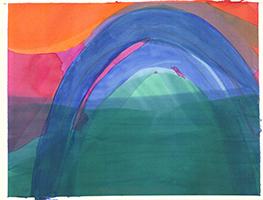 Willibrord Haas: Gebogenes Violett
