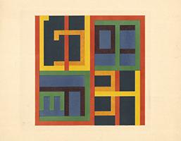 Lothar Schreyer: Geometrische Komposition