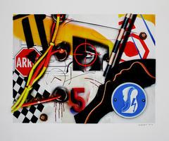 Peter Klasen: Regard / Cible / 5 / Electrified floor