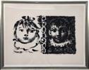 Pablo Picasso: Paloma et Claude 16.4.1950 Vallauris