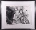 Pablo Picasso: Portrait de famille 19.6.1962; Mougins