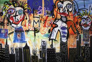 Paul Kostabi: The King Of The East Village - Variation