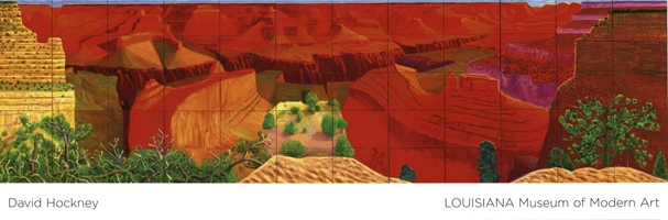 David Hockney: A Closer Grand Canyon