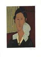 Amadeo Modigliani: Frauenportrait