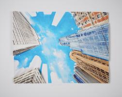 Gottfried Salzmann: View of the Sky of New York