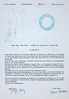 Joseph Beuys (und Franz Dahlem): 7000 Eichen - Rundbrief anläßlich der documenta VII in Kassel 1982