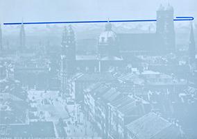 Joseph Beuys: Eurasienstab über den Alpen