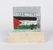 Banksy: Wall Section (Free Palestine)