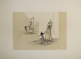 Fabrizio Clerici: Maler