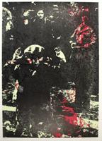 Paolo Baratella: Bambino con braccia alzate