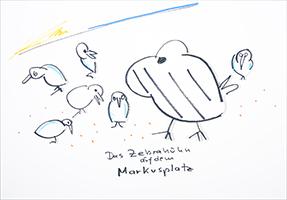 Helge Schneider: Das Zebrahuhn auf dem Markusplatz