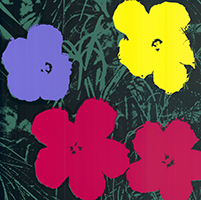 Andy (after) Warhol: Flowers