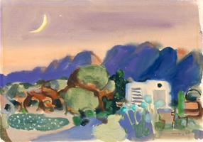 Willi Ulfig: Berglandschaft