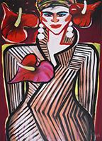 Elvira Bach: Anthurien