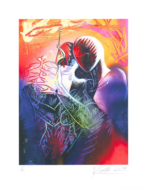 Mark Kostabi: A Glimpse of the Infinite