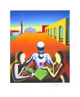 Mark Kostabi: A matter of perspective
