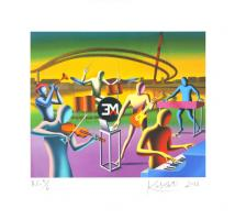 Mark Kostabi: Six musicians in search of Angelo Fabrini