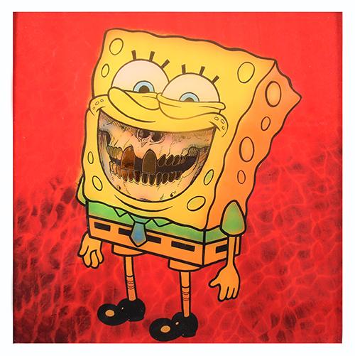 Ron English: Sponge Grin