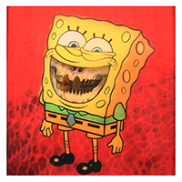 Ron English: Sponge Grin