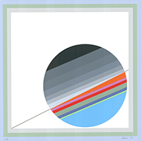 Eugenio Carmi: Geometrische Komposition